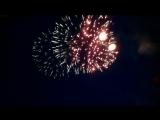 День России и день города Кемерово фейерверк