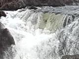 29.05.15 Эндуро на Кольском полуострове. Первый водопад на реке Титовка (Vaalesjoki)