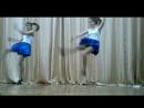 Зажигательный танец на школьной сцене Проваливай, Джекdancing schoolgirls