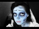 Труп Невесты урок макияжа/Tim Burton's Corpse Bride Makeup Tutorial