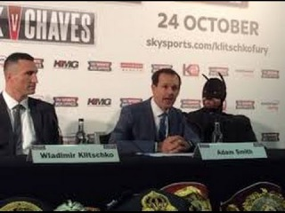 Долгожданный бой Кличко против Бэтмена(Фьюри ).Самая веселая пресс-конференция
