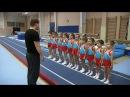 Показательная тренировка по спортивной гимнастике мальчиков набора 2013 г. Трене ...