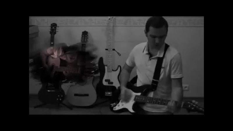 Three Days Grace - I Hate Everything About You (guitar, bass, e-drums cover)