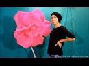 Большой цветок из изолона