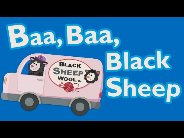 Baa Baa Black Sheep Animated Mother Goose Club Rhymes for Kids