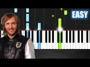 David Guetta - Titanium ft. Sia - EASY Piano Tutorial by PlutaX - Synthesia