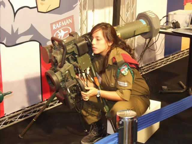 Beautiful Women from Israel Defense Forces IDF Girls