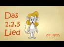 Zahlen lernen deutsch | Zahlenlied | zählen lernen | 123-Lied | numbers song german 1 to 10