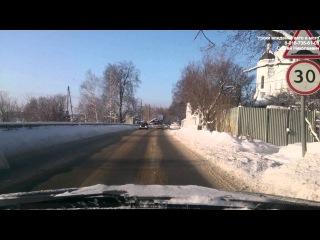 Экзаменационный маршрут №3 ГИБДД Щелково