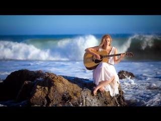 Волшебная инструментальная музыка на гитаре под шум морских волн... КРАСОТА!!! Релакс!!!