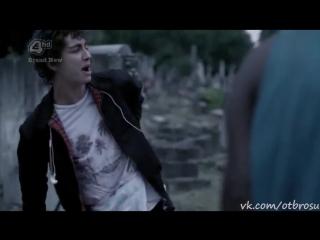 Эффектное воскрешение Нейтана (Отбросы 2 сезон 1 серия)