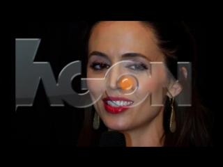 Agon Channel - Eliza Dushku ne Tirane per dokumentarin