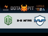 OG vs MVP Phoenix #3 (bo3) | Dota Pit 4, 19.03.16