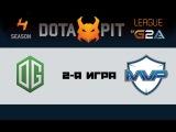 OG vs MVP Phoenix #2 (bo3) | Dota Pit 4, 19.03.16