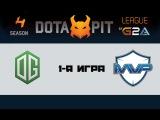 OG vs MVP Phoenix #1 (bo3) | Dota Pit 4, 19.03.16