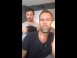 [15/10/2015] Periscope - JR Bourne (with Ian Bohen) Phone calls for the TOW