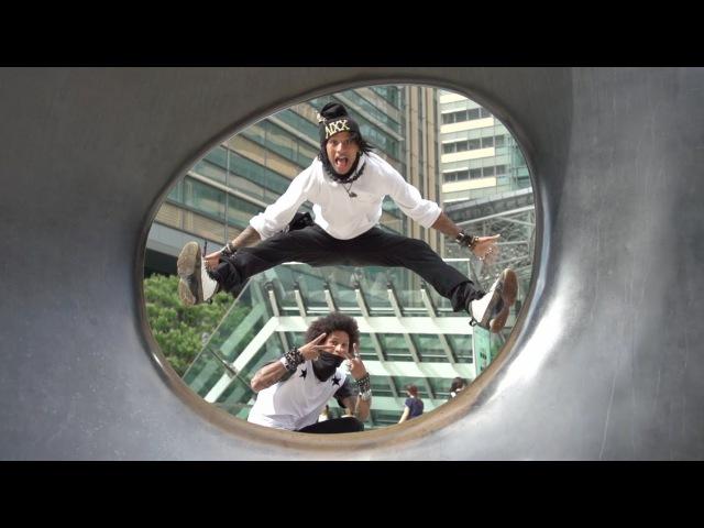 Super Slow Motion Bad Queens Les Twins Lil Buck Grichka Bboy   YAK FILMS x SONY JAPAN