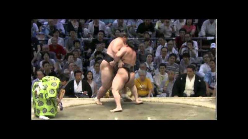 Nagoya15 Day09 Hakuho vs Ichinojo