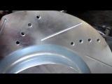 Перфорированные тормозные диски с насечкой