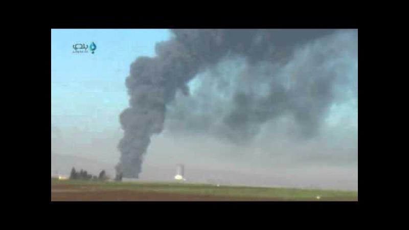 Дымипламя: ВКСРФсожгли топливное хранилище наподступах кцитадели террористов — Джиср эш-Шугур