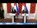 Путин принял в Кремле президента Швейцарии действующего председателя ОБСЕ Дидье Буркхальтера