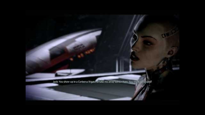 Mass Effect 2 - Getting Jack off the Ship
