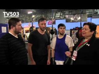 Бахтияр Эюбов, братья Салита и Евгений Рывкин box interview