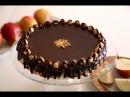 Вафельный шоколадный торт с Нутеллой и фундуком Wafer Nutella Chocolate Hazelnut Cake Easy Recipe