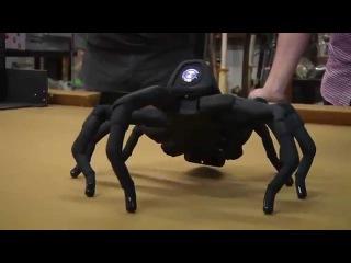 Разрушители Легенд тестируют напечатанного на 3D-принтере робота-паука