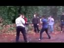 Качок против нелегального мигранта боксера