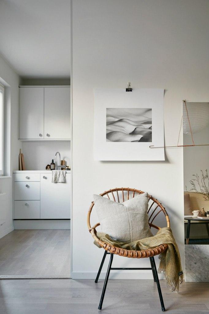 Интерьер квартиры-студии 34 м.