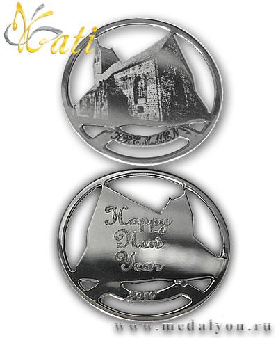 Пример ювелирного изделия из серебра изготовленного на станке Magic 70