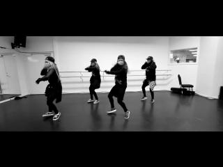 Клёвый хип-хоп танец