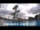 The Apple Watch off a 10m32ft high dive platform!