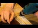 Монтаж террасной доски на крепеж Гвозdeck Twin Mini