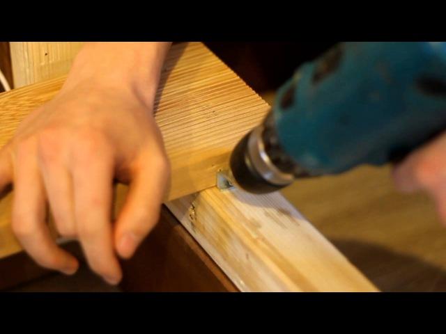 Монтаж террасной доски на крепеж Гвозdeck Twin Mini смотреть онлайн без регистрации