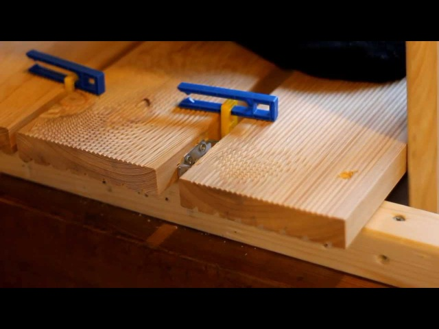 Монтаж террасной доски на крепеж Гвозdeck Twin смотреть онлайн без регистрации