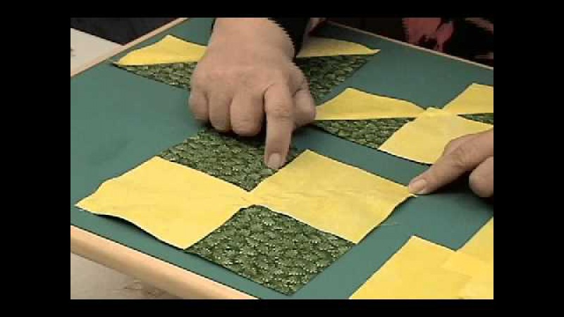 Flying Geese Block-Four at Once-Billie Lauder