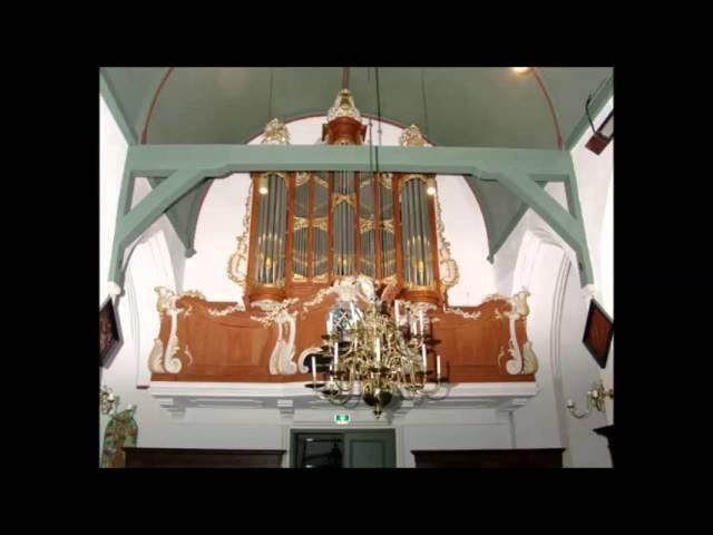 J S Bach An Wasserflüssen Babylon BWV 653 Pieter Dirksen live