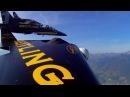 Ив Росси-человек самолет! Нереальный полет (Jetman Yves Rossy)