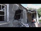 Утренний обстрел Донецка. 12.07.2015