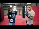 Встречный удар коленом в тайском боксе от Андрея Басынина.
