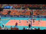 Голландия-Россия. 2ч. 04.10.2015 .Волейбол. Женщины. ЧЕ.2015 Финал.