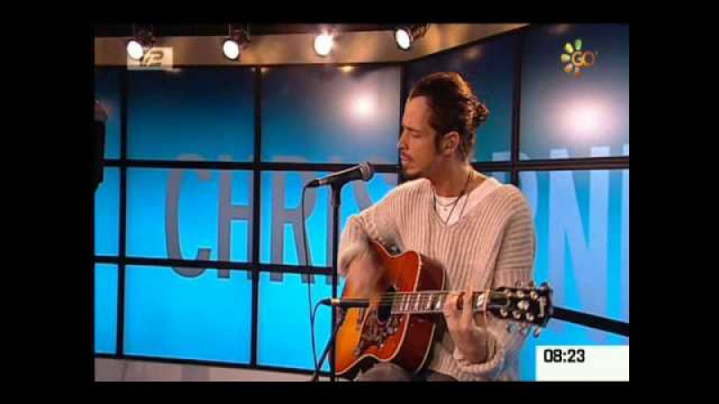 Chris Cornell - Scream Live Acoustic on a Denmark TV Show 3-5-09
