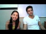 Parth and Niti aka Manik and Nandani of Kaisi Yeh Yaariyaas Message for Fans