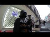 Дарт Вейдер играет Имперский марш на ... БАЛАЛАЙКЕ!!! в центре Москвы!