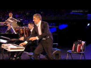 Мистер Бин на открытии Олимпийских Игр в Лондоне 2012