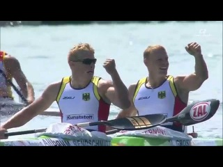 K2 1000m men final ICF Canoe Sprint World Championships Milan 2015