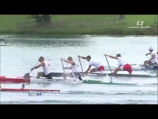 C2 500m men final ICF Canoe Sprint World Championships Milan 2015