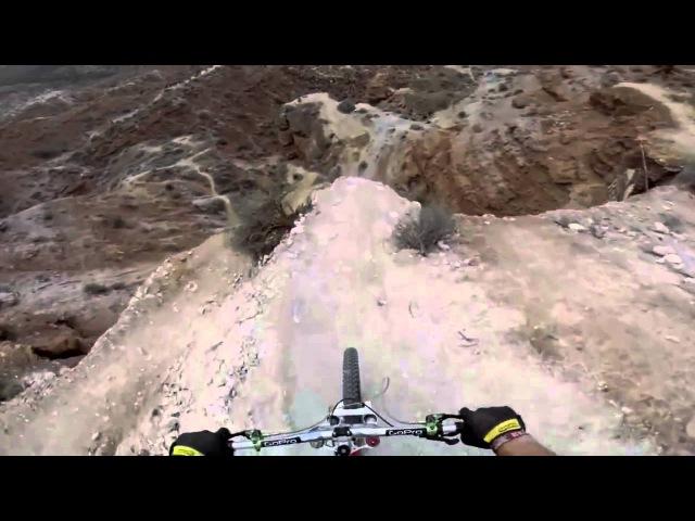Такого спуска с горы еще не было most reckless lowering from a mountain